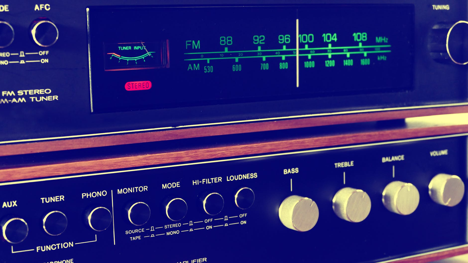 analogue buttons design display
